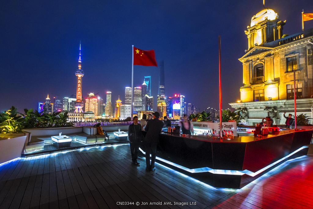 Bar Rouge, The Bund, Shanghai, China